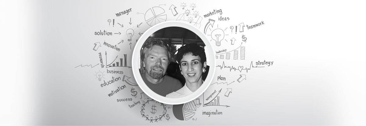 Richard Branson & Irene know about online marketing